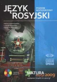 Język rosyjski. Matura 2009. Poziom rozszerzony (+ CD) - okładka podręcznika