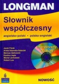 Longman. Słownik współczesny angielsko-polski, polsko-angielski (+ CD) - okładka podręcznika