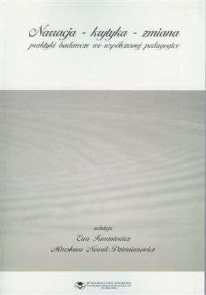 Narracja-krytyka-zmiana - okładka książki