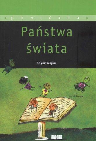 Państwa świata dla gimnazjum - okładka podręcznika