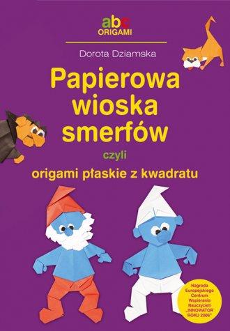Papierowa wioska smerfów czyli - okładka książki