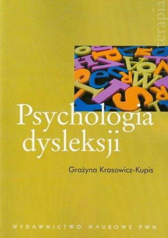 Psychologia dysleksji - okładka książki