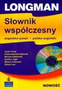 Słownik współczesny angielsko-polski, polsko-angielski - okładka podręcznika