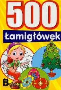 500 łamigłówek - okładka książki