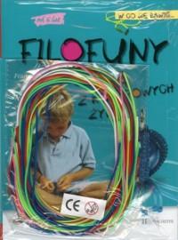 Filofuny. Cuda z kolorowych żyłek - okładka książki