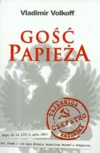 Gość papieża - okładka książki