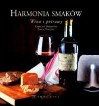 Harmonia smaków wina i potrawy - okładka książki