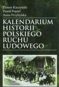 Kalendarium historii Polskiego - okładka książki