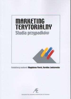 Marketing terytorialny. Studia - okładka książki