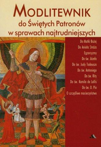 Modlitewnik do świętych Patronów - okładka książki