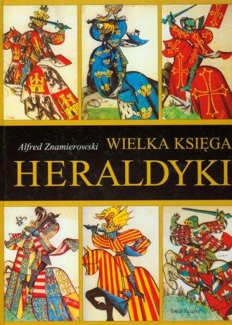 Wielka księga heraldyki - okładka książki