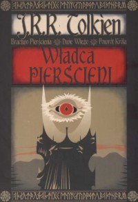 Władca Pierścieni - J.R.R. Tolkien - okładka książki