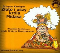 Złoto i uszy króla Midasa (CD mp3) - pudełko audiobooku