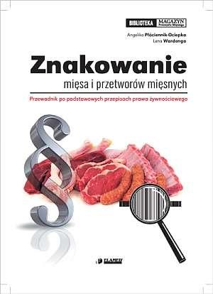 Znakowanie mięsa i przetworów mięsnych. - okładka książki