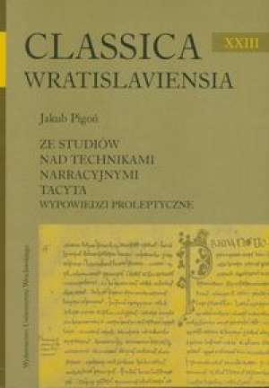 Classica Wratislaviensia XXIII. - okładka książki