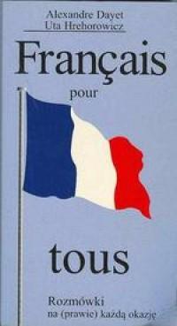 Français pour les fans. Rozmówki na (prawie) każdą okazję - okładka książki
