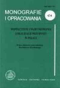 Współczesne uwarunkowania lokalizacji przemysłu w Polsce - okładka książki