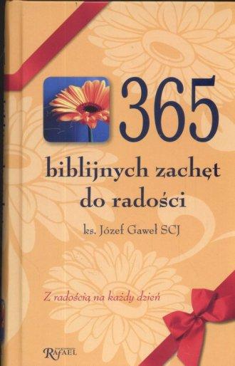 365 biblijnych zachęt do radości - okładka książki