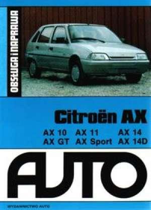 Citroen AX. Obsługa i naprawa - okładka książki
