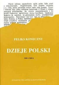 Dzieje Polski. Tom 1-2 (w 1 voluminie) - okładka książki