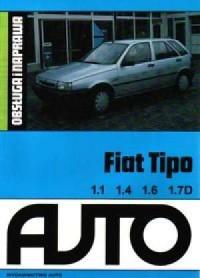 Fiat Tipo. 1.1 1.4 1.6 1.7D - okładka książki