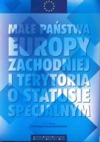 Małe państwa Europy Zachodniej - okładka książki