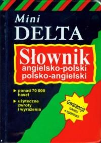 Mini słownik angielsko-polski polsko-angielski - okładka książki