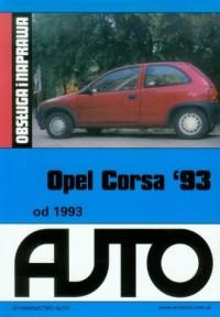 Opel Corsa 93. Obsługa i naprawa - okładka książki