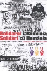 Solidarni z Rumunią. Solidari cu - okładka książki