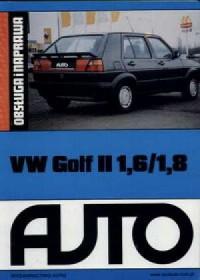 VW Golf II 1,6/1,8 - okładka książki