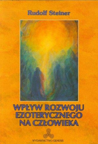 Wpływ rozwoju ezoterycznego na - okładka książki