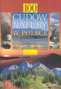 100 cudów natury w Polsce - okładka książki