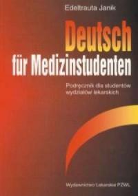 Deutsch fur Medizinstudenten - okładka podręcznika
