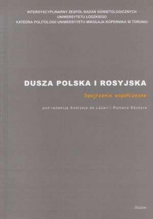 Dusza polska i rosyjska - okładka książki