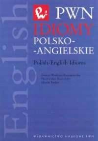 Idiomy polsko-angielskie - okładka podręcznika