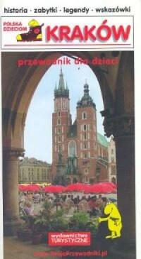 Kraków. Przewodnik dla dzieci - okładka książki