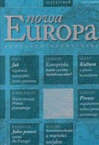 Nowa Europa 2(7) 2008 - Wydawnictwo Ośrodek Myśli Politycznej - okładka książki