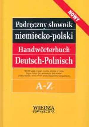 Podręczny słownik niemiecko-polski - okładka książki