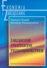Zarządzanie strategiczne przedsiębiorstwem - okładka książki