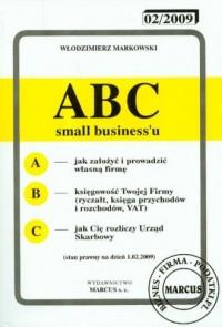 ABC small businessu 1.02.2009 - okładka książki