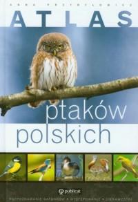 okładka książki - Atlas ptaków polskich