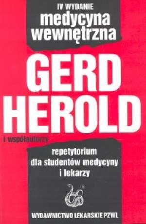 Medycyna wewnętrzna - okładka książki