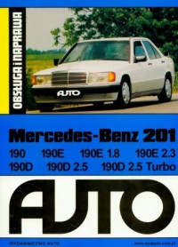 Mercedes 201. Obsługa i naprawa - okładka książki