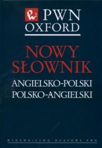 Nowy słownik angielsko-polski, - okładka książki