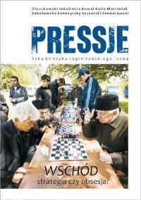 Pressje (15). Wschód - strategia czy obsesja? - okładka książki