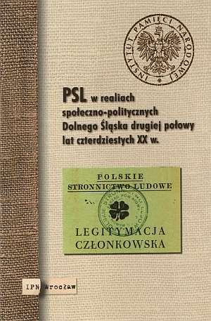 PSL w realiach społeczno-politycznych - okładka książki