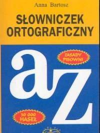 Słowniczek ortograficzny. 30 000 haseł - okładka książki