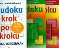 Sudoku krok po kroku. PAKIET - okładka książki