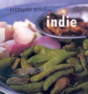 Szczypta smaku... Indie - okładka książki