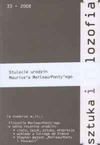 Sztuka i filozofia 33/2008 - okładka książki